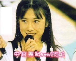 中谷 アイドル