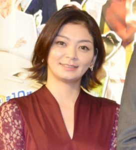 ブロンドヘアーの田畑智子さん