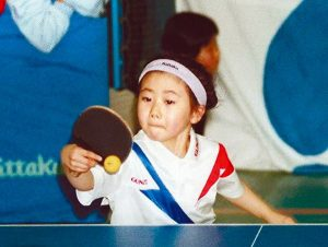 Aug. 7, 2012 - JPN - Al Fukuhara, then 6, plays in a match with children in an area affected by the Great Hanshin Earthquake in 1995